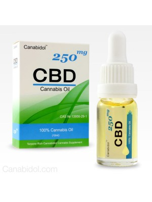 CANABIDOL™ CANNABIS CBD OIL DROPS 250mg