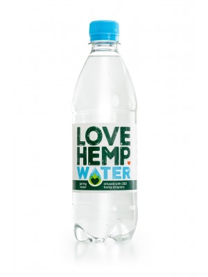 LOVE HEMP CDB INFUSED BOTTED WATER
