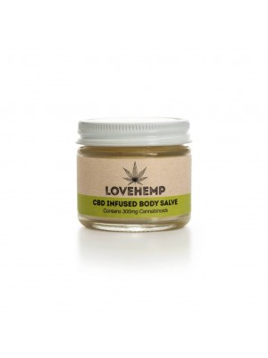 Love Hemp® Body Salve – 50ml – 300mg CBD